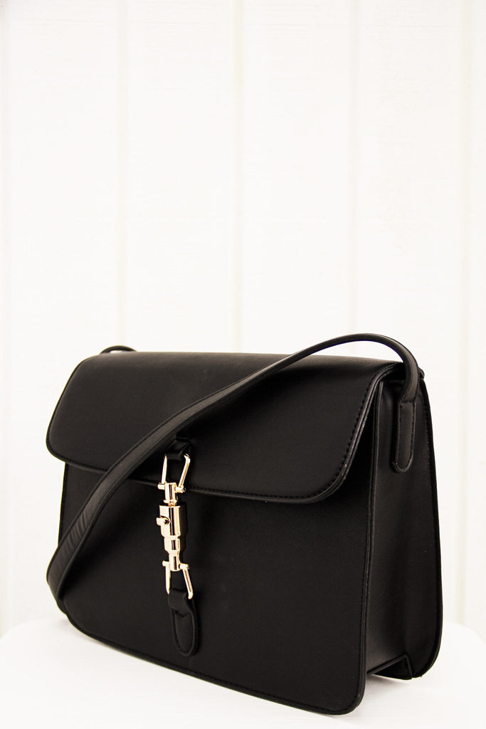 Mischka Crossbody - Black - Haute & Rebellious