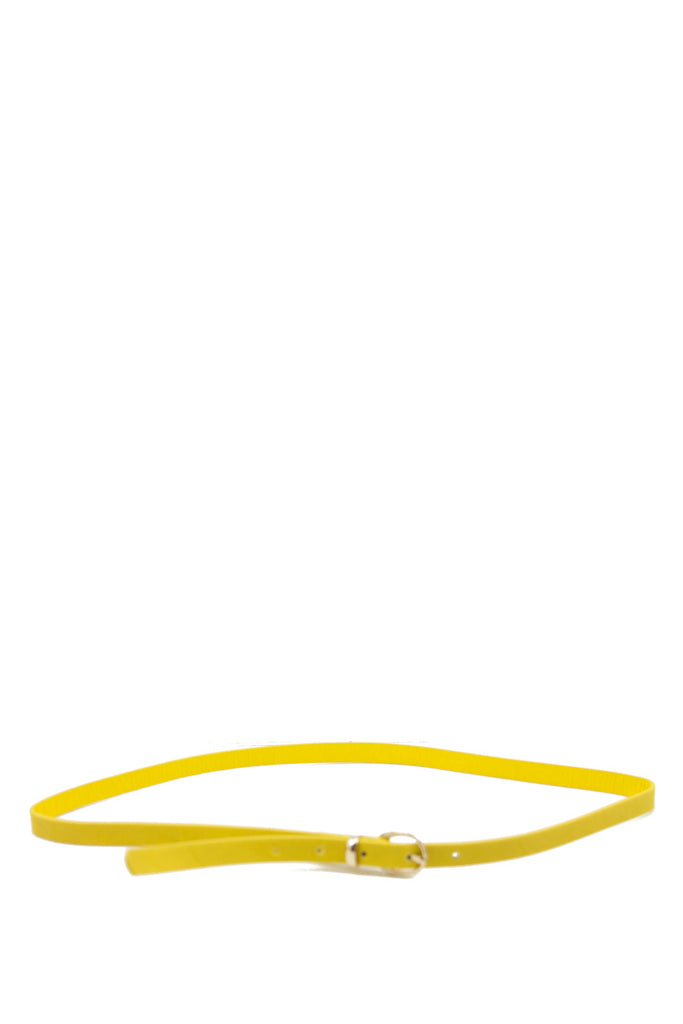 SKINNY BELT - Yellow - Haute & Rebellious
