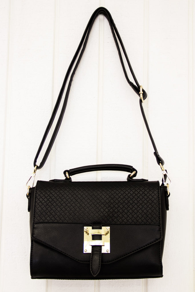 Joana Crossbody - Black - Haute & Rebellious