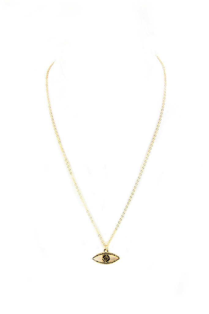 Eye Pendant Petite Layering Necklace