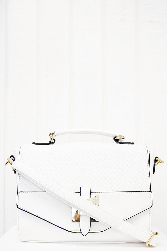 Joana Crossbody - White - Haute & Rebellious