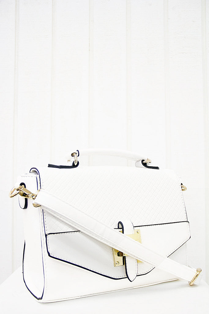 Joana Crossbody - White