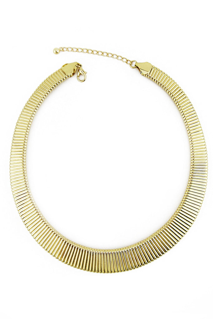 CLEOPATRA LONG NECKLACE - Gold