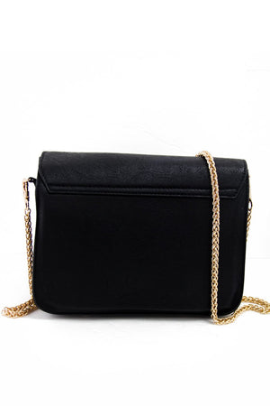MAXIA SHOULDER BAG - Black & Gold - Haute & Rebellious