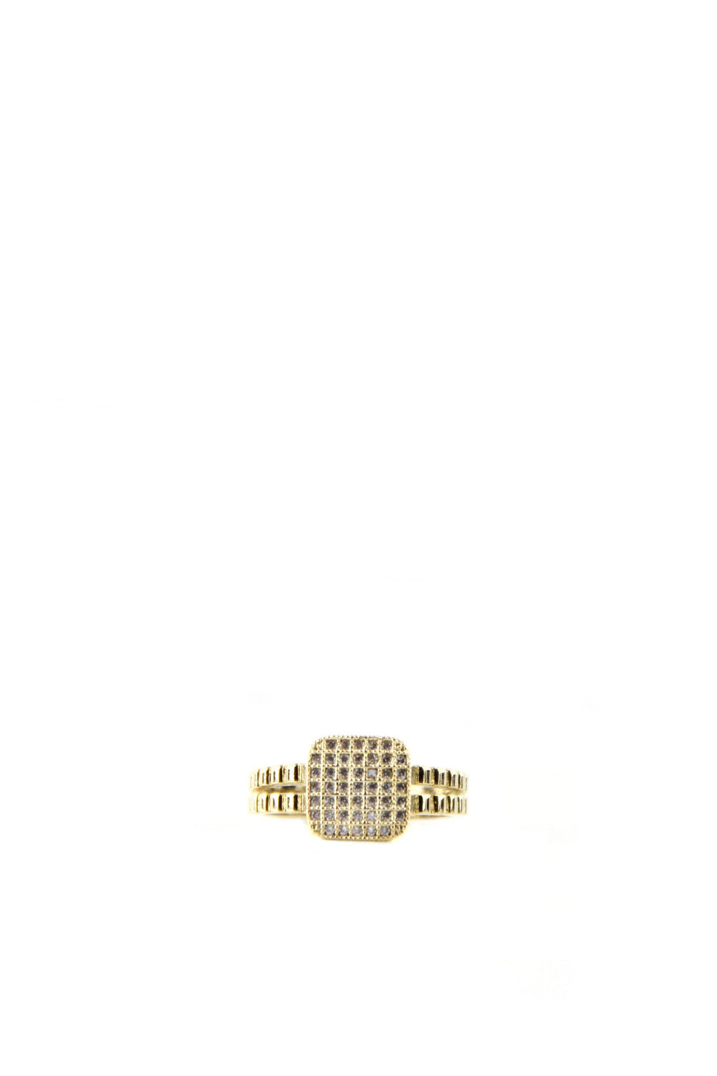 Crystal Bling Ring - Haute & Rebellious