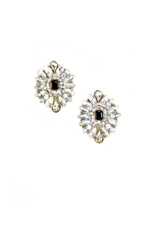 Shine Crystal Stud Earring - Haute & Rebellious