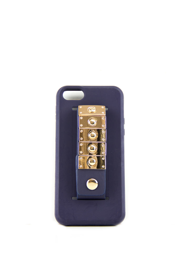 Studded Handle Cell Phone Case