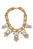 BRIDGET LARGE CRYSTAL NECKLACE - Haute & Rebellious