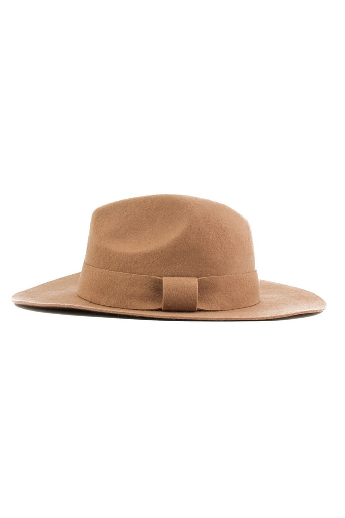 FLOPPY FEDORA - Brown