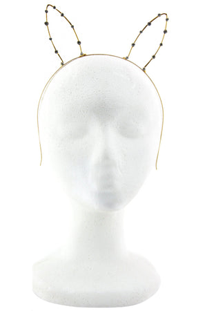 DIAMOND BUNNY EARS HEADBAND - Haute & Rebellious