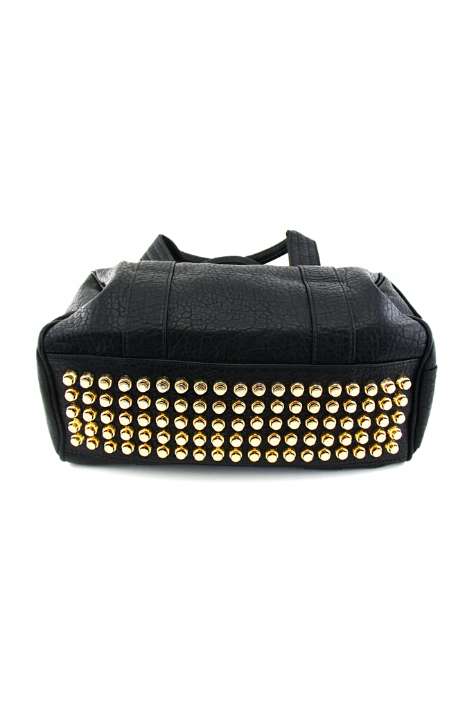 ROCC STUDDED DUFFEL BAG - Black