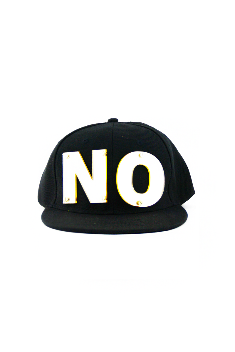 PLATED NO SNAPBACK - Black - Haute & Rebellious