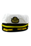 SAILORS YACHTING CAP - White