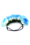 BLUE MIST FLOWER CHILD HEADBAND - Blue