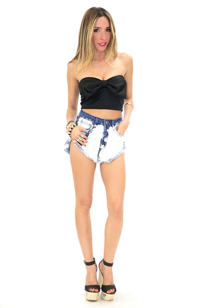 LARGE BOW TUBE TOP - Haute & Rebellious