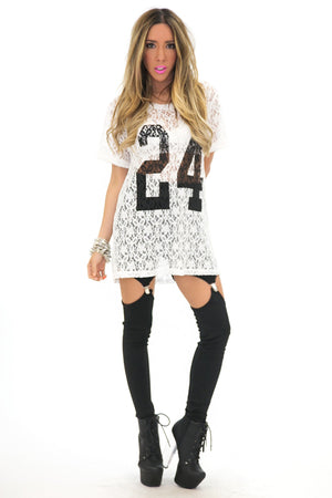LACE IT UP NUMBER TOP - Haute & Rebellious