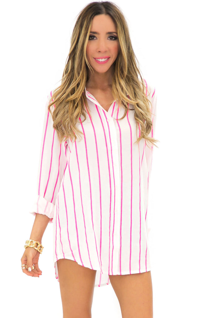 POPPY STRIPE TOP