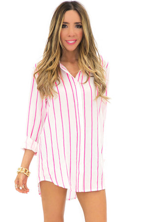 POPPY STRIPE TOP - Haute & Rebellious