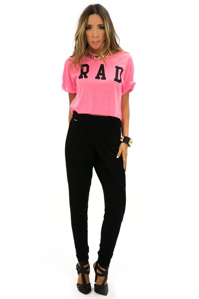 R A D NEON TOP - Pink - Haute & Rebellious