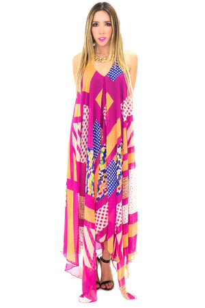 CHARISE HALTER MAXI DRESS - Haute & Rebellious