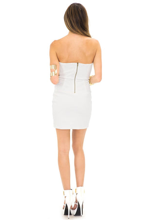 KORI SEQUIN DRESS - White - Haute & Rebellious