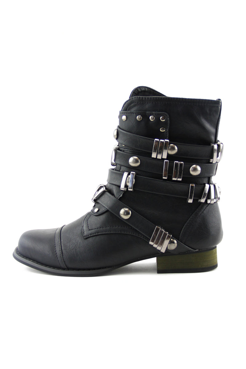 RUGGER BUCKLE BOOT - Haute & Rebellious