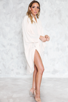Wrap Tunic Dress - Sand