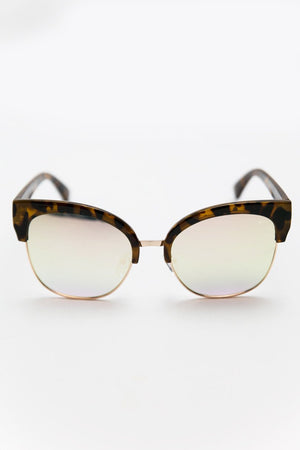 I Feel it Fade Sunglasses - Tort/Mint - Haute & Rebellious