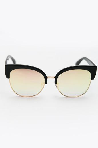 I Feel it Fade Sunglasses - Black/Mint - Haute & Rebellious