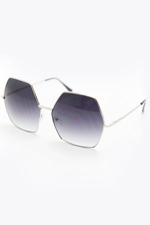 Do You Need Somebody Sunglasses - Silver - Haute & Rebellious