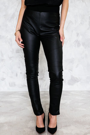 Split Decision Leather Legging Pant /// Only 1-M Left ///
