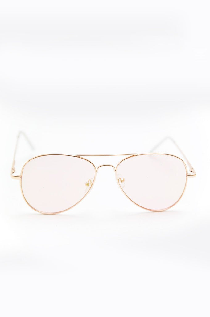 Anything Blush Sunglasses