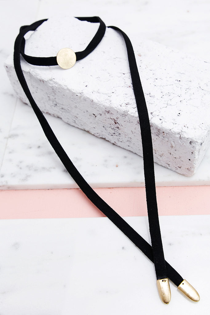 End of the Road Tie Choker