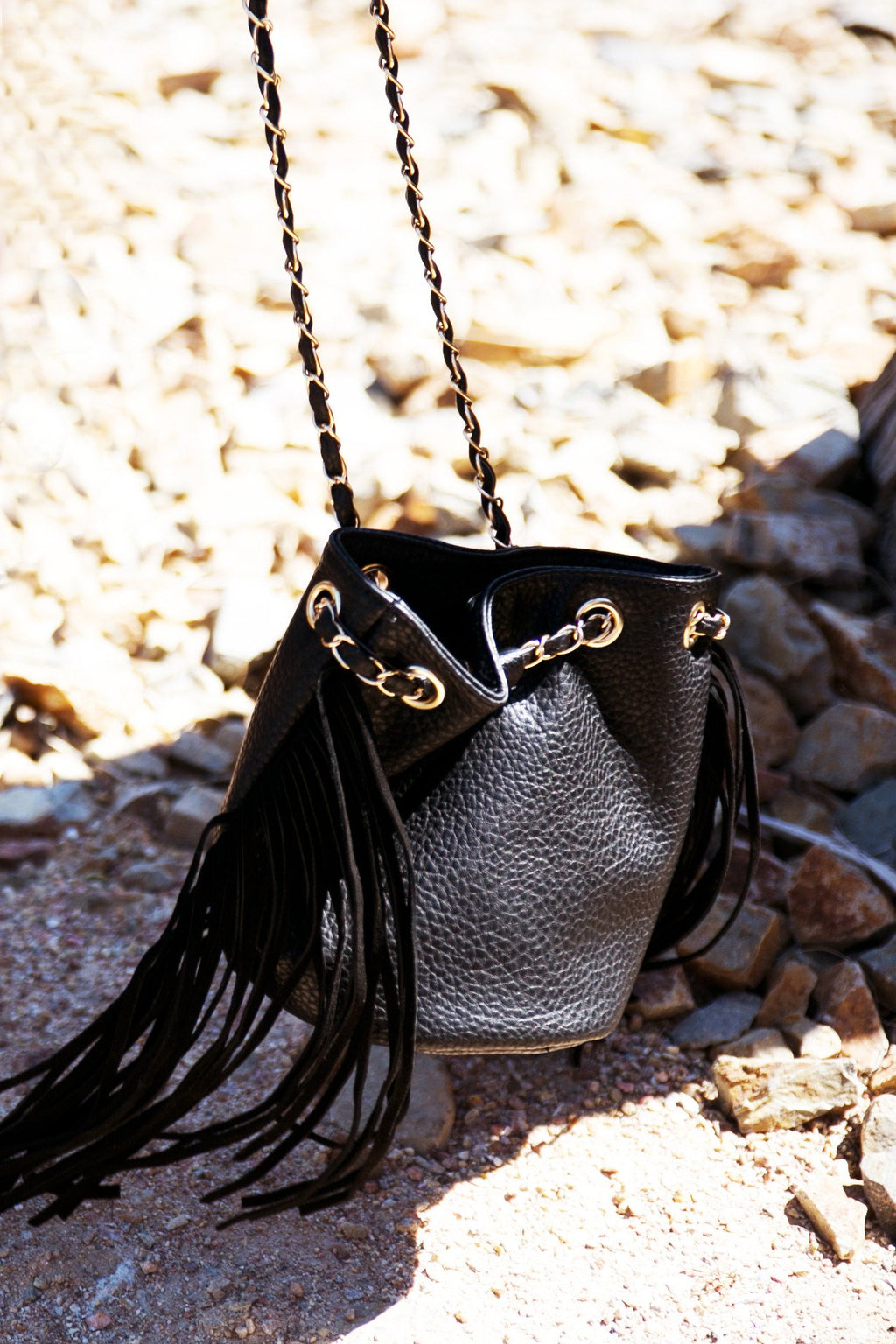 FREE RIDE SATCHEL BAG - Black - Haute & Rebellious