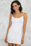 Don't Be Long Camisole Dress - White /// ONLY 1 LEFT/// - Haute & Rebellious