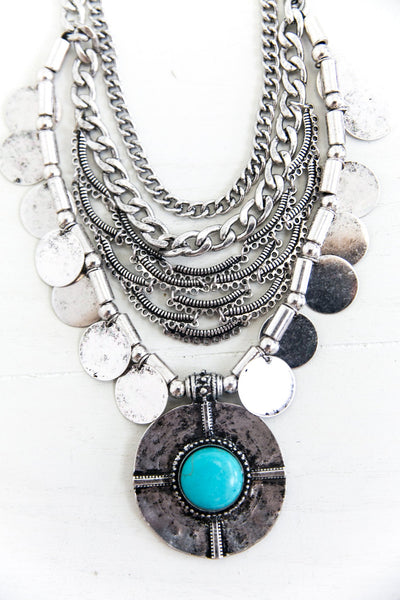 Jennda Gypsy Statement Necklace - Haute & Rebellious