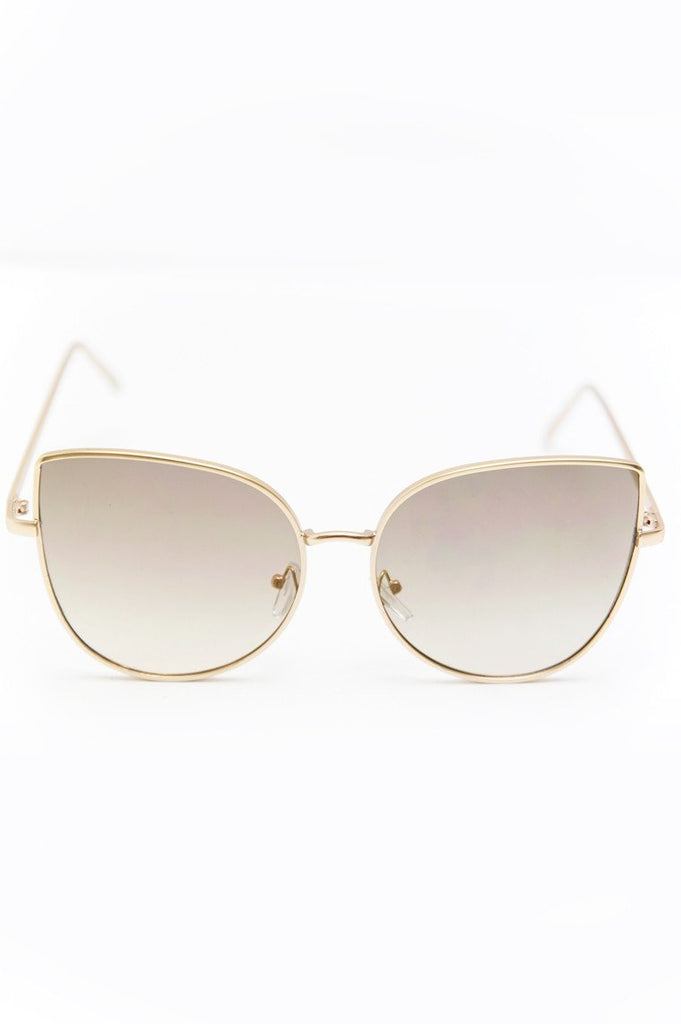 Can't Stop This Feeling Sunglasses - Gold - Haute & Rebellious