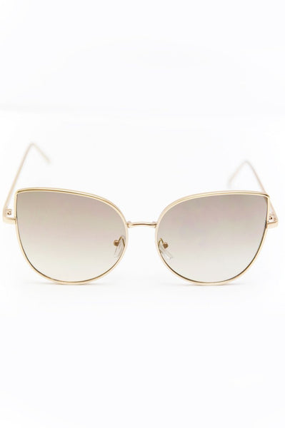 Can't Stop This Feeling Sunglasses - Gold