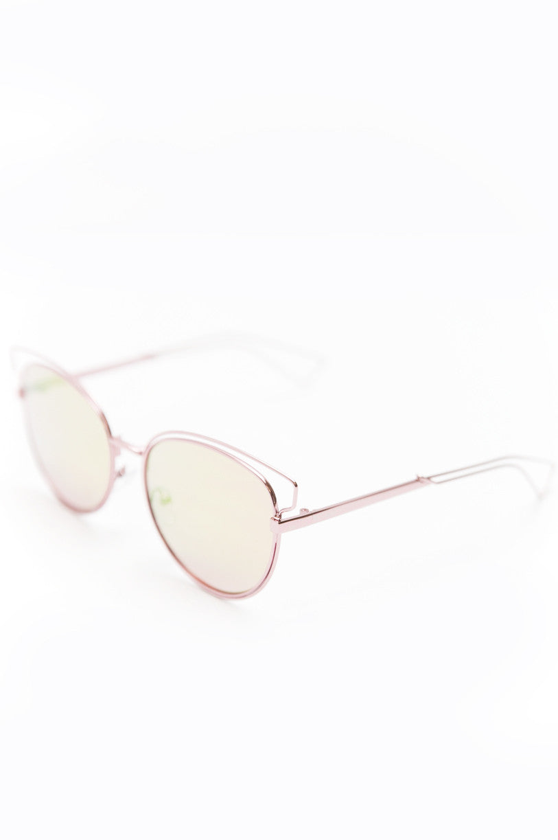 Set You Free Sunglasses - Blush - Haute & Rebellious