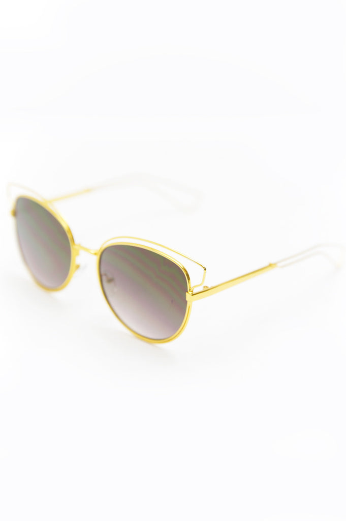 Set You Free Sunglasses - Gold
