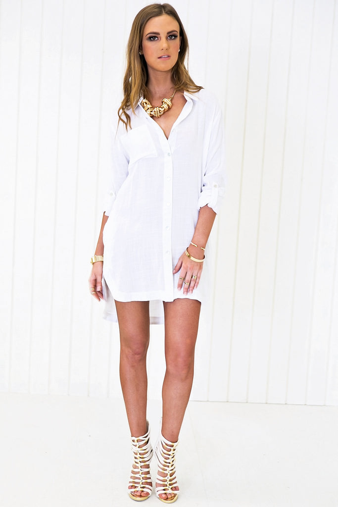 Nailea Long Buttondown Shirt