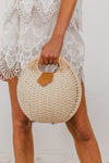 Round Hard Basket Bag