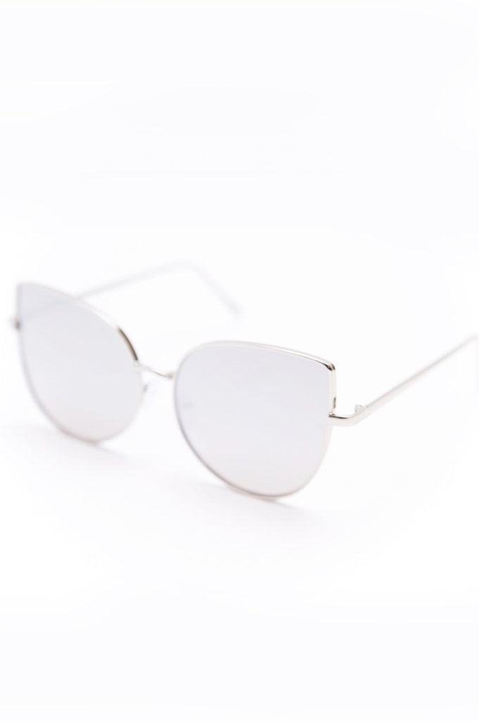Can't Stop This Feeling Sunglasses - Silver