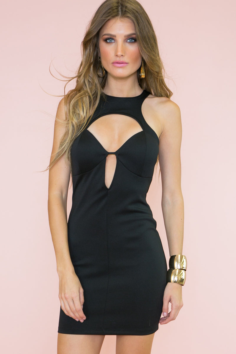 Open Your Heart Body-Con Dress - Haute & Rebellious