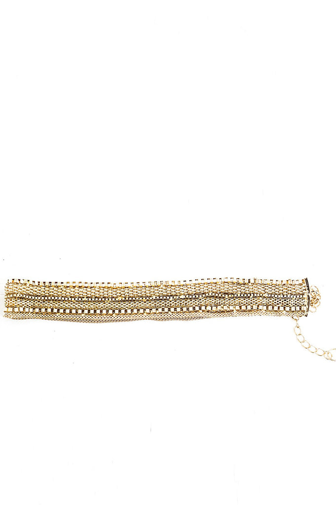 Behia Heavy Chain Belt - Gold