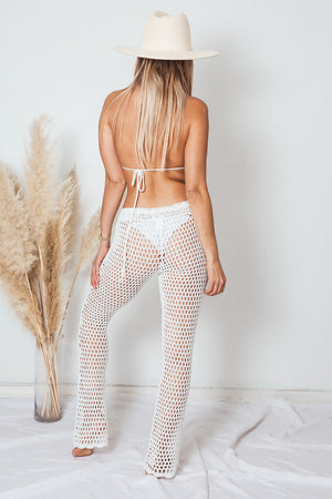Crochet Bralette and Pant Set