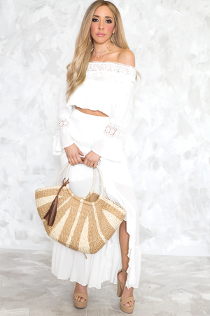Straw Basket Bag - Haute & Rebellious