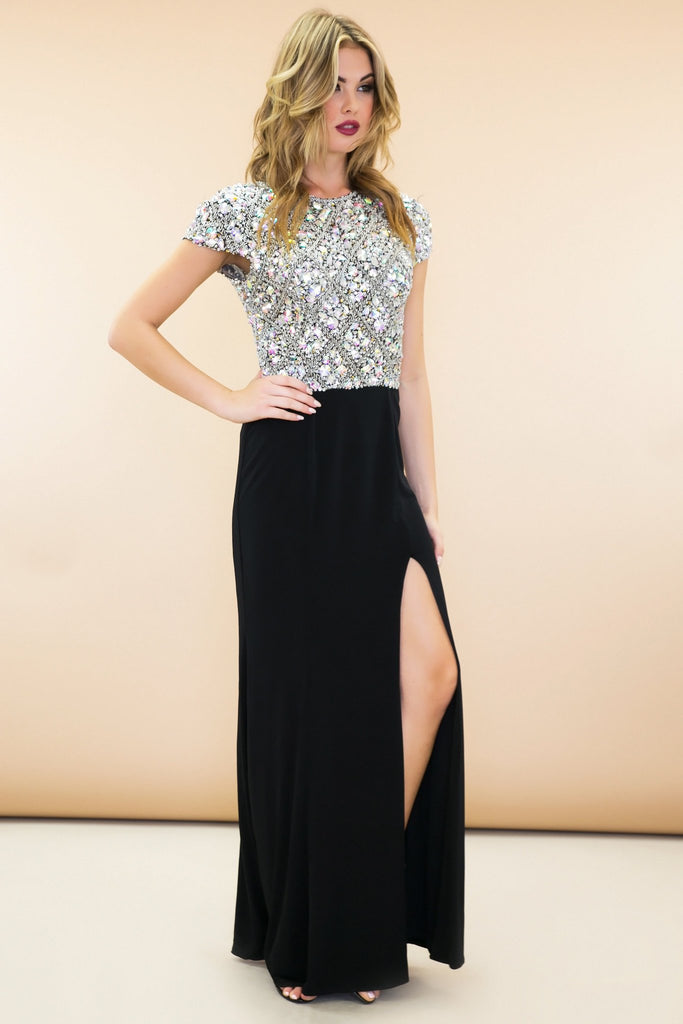 Ellie Beaded Gown - Haute & Rebellious