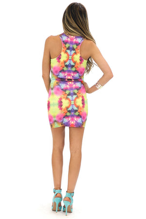 INK DROP PRINTED DRESS - Haute & Rebellious
