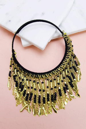 Lola Fringe Necklace - Haute & Rebellious